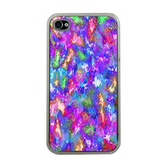 Abstract Trippy Bright Sky Space Apple Iphone 4 Case (clear)