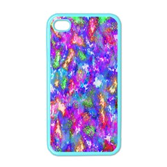 Abstract Trippy Bright Sky Space Apple iPhone 4 Case (Color)