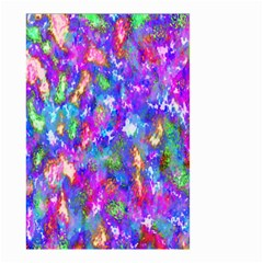 Abstract Trippy Bright Sky Space Small Garden Flag (Two Sides)