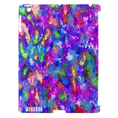 Abstract Trippy Bright Sky Space Apple iPad 3/4 Hardshell Case (Compatible with Smart Cover)