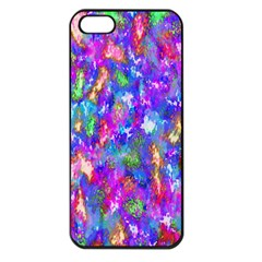 Abstract Trippy Bright Sky Space Apple Iphone 5 Seamless Case (black)