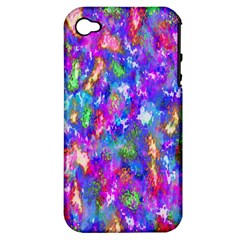 Abstract Trippy Bright Sky Space Apple iPhone 4/4S Hardshell Case (PC+Silicone)