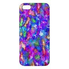 Abstract Trippy Bright Sky Space Apple iPhone 5 Premium Hardshell Case