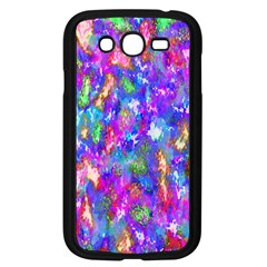 Abstract Trippy Bright Sky Space Samsung Galaxy Grand DUOS I9082 Case (Black)
