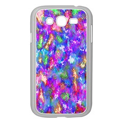 Abstract Trippy Bright Sky Space Samsung Galaxy Grand DUOS I9082 Case (White)