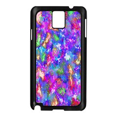 Abstract Trippy Bright Sky Space Samsung Galaxy Note 3 N9005 Case (Black)