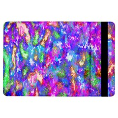 Abstract Trippy Bright Sky Space iPad Air Flip