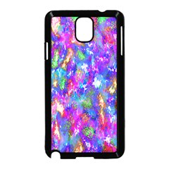 Abstract Trippy Bright Sky Space Samsung Galaxy Note 3 Neo Hardshell Case (Black)