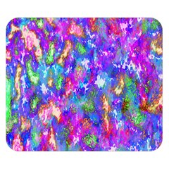 Abstract Trippy Bright Sky Space Double Sided Flano Blanket (small)