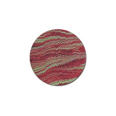 Scaly Pattern Colour Green Pink Golf Ball Marker (4 Pack)