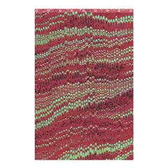 Scaly Pattern Colour Green Pink Shower Curtain 48  X 72  (small)