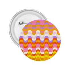 Dna Early Childhood Wave Chevron Rainbow Color 2 25  Buttons