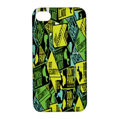 Don t Panic Digital Security Helpline Access Apple Iphone 4/4s Hardshell Case With Stand