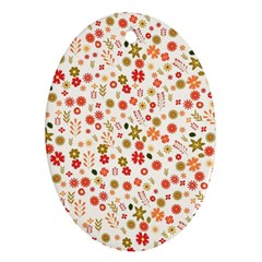 Floral pattern Ornament (Oval)