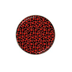 Strawberry  Pattern Hat Clip Ball Marker