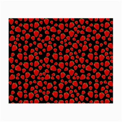 Strawberry  pattern Small Glasses Cloth