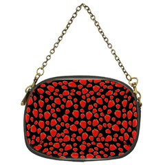 Strawberry  Pattern Chain Purses (one Side)