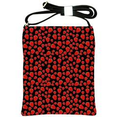 Strawberry  pattern Shoulder Sling Bags