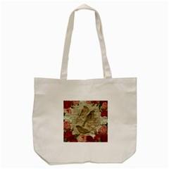 Vintage birds Tote Bag (Cream)