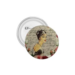 Vintage girl 1.75  Buttons