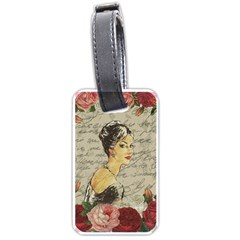 Vintage Girl Luggage Tags (two Sides)