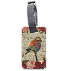 Vintage bird Luggage Tags (One Side)
