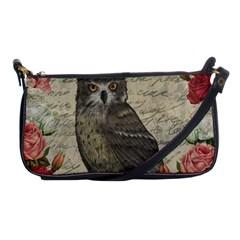 Vintage owl Shoulder Clutch Bags