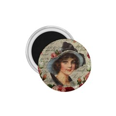 Vintage girl 1.75  Magnets