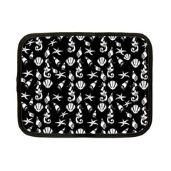 Seahorse pattern Netbook Case (Small)