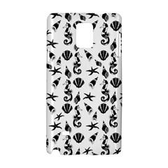 Seahorse Pattern Samsung Galaxy Note 4 Hardshell Case