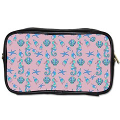 Seahorse pattern Toiletries Bags 2-Side