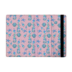Seahorse Pattern Apple Ipad Mini Flip Case