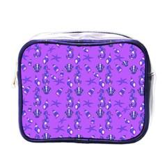 Seahorse pattern Mini Toiletries Bags