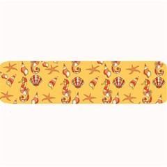 Seahorse pattern Large Bar Mats