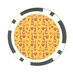 Seahorse pattern Poker Chip Card Guard (10 pack)