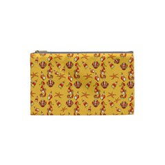 Seahorse pattern Cosmetic Bag (Small)