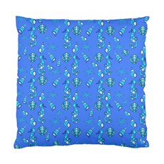 Seahorse pattern Standard Cushion Case (Two Sides)
