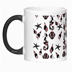 Seahorse pattern Morph Mugs