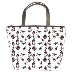 Seahorse pattern Bucket Bags