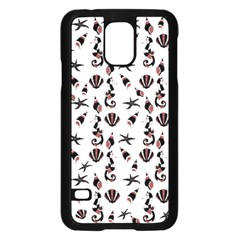 Seahorse Pattern Samsung Galaxy S5 Case (black)