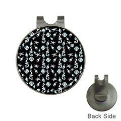 Seahorse pattern Hat Clips with Golf Markers
