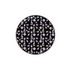 Seahorse pattern Hat Clip Ball Marker (4 pack)