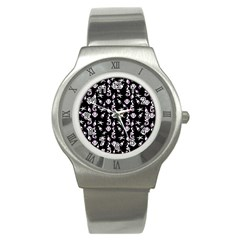 Seahorse pattern Stainless Steel Watch