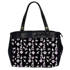 Seahorse pattern Office Handbags (2 Sides)
