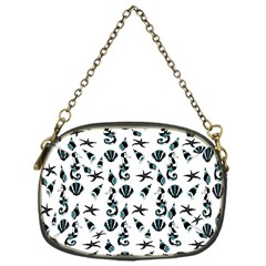 Seahorse pattern Chain Purses (One Side)