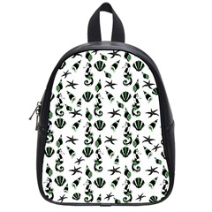 Seahorse pattern School Bags (Small)