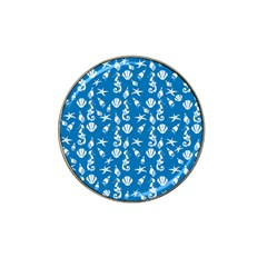 Seahorse pattern Hat Clip Ball Marker (10 pack)