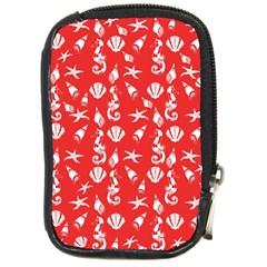 Seahorse pattern Compact Camera Cases