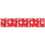 Seahorse pattern Flano Scarf (Small) Back