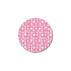 Seahorse pattern Golf Ball Marker (4 pack)